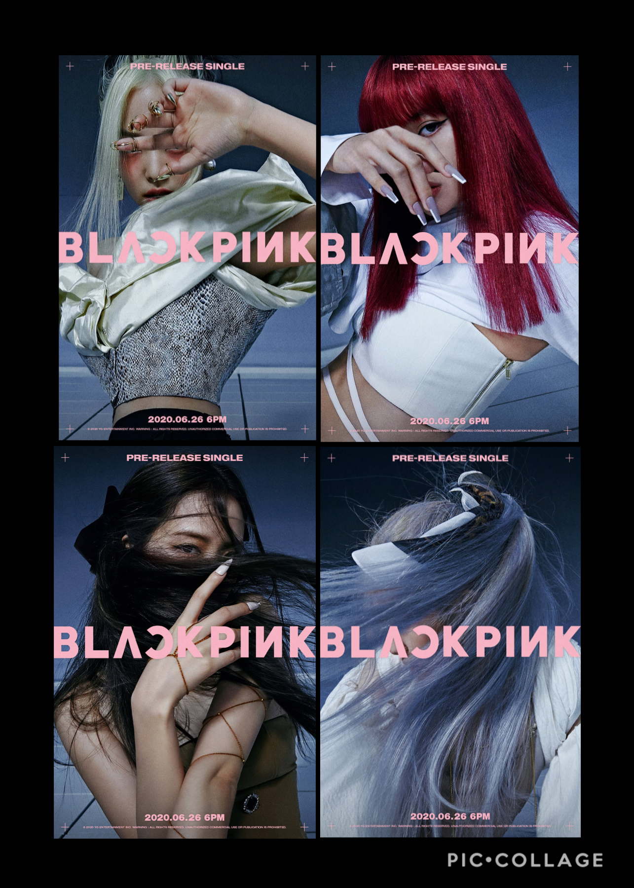ok but this comeback is high budget 🤯🤩 after this comeback, rosé, jisoo & lisa are releasing their solo albums!!! it'll be released around fall, but i'm so stoked 🥰 these teaser photos are 🤩🙌🏼 looK @ their hair 😧 — so glad rosé is blond anymore though 🌝 j