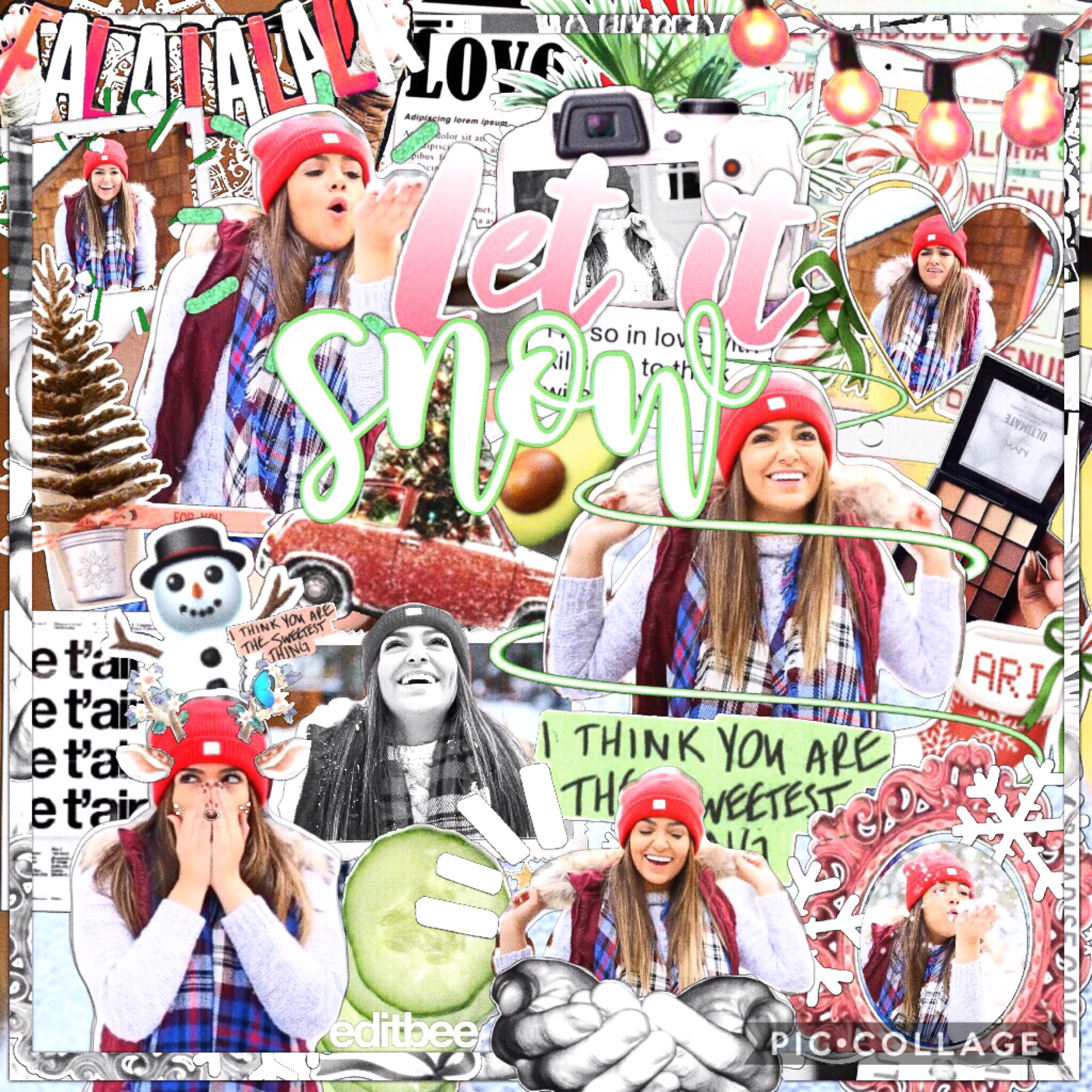 okay after a few tries I finally made a messy but decent Christmas edit! love you all 💓💓 sorry I haven't been active or responding to comments, I'm so busy with holiday szn🎄🌟