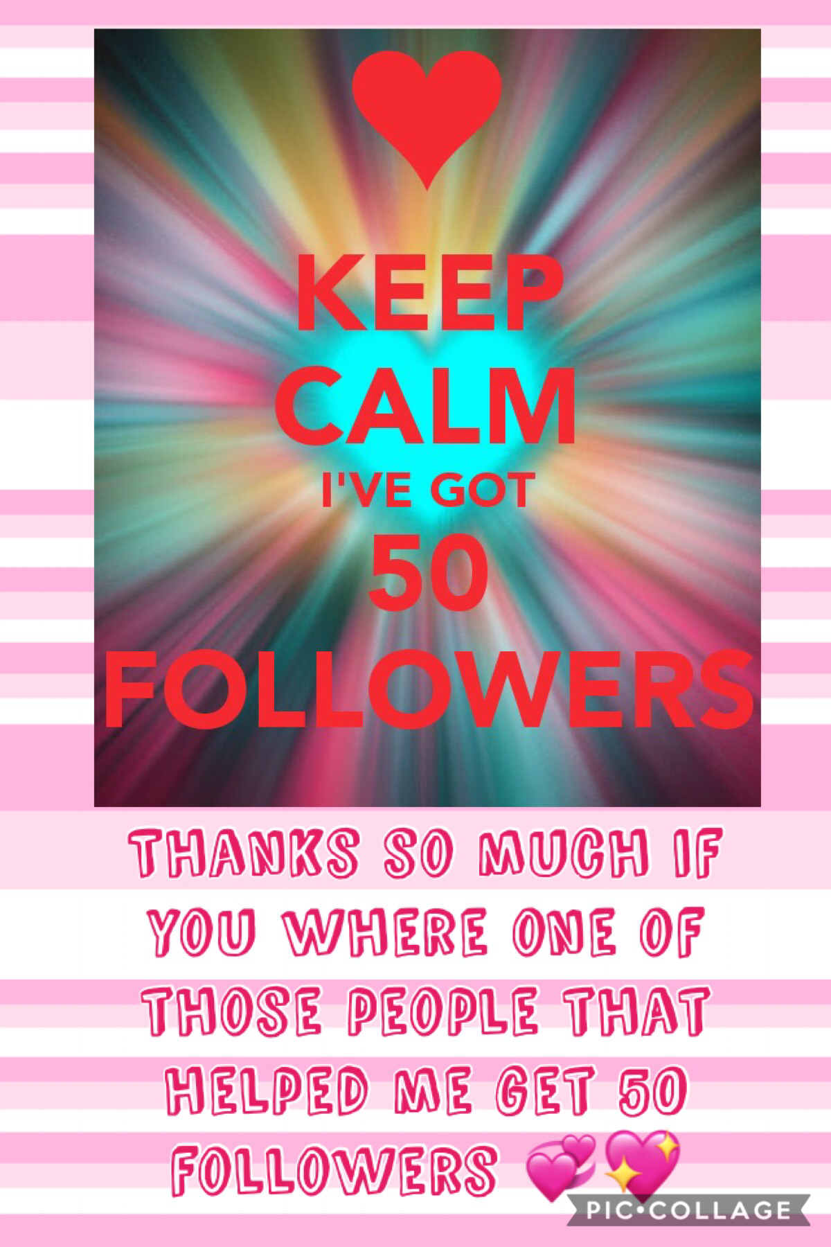 Yay 50 thanks so much