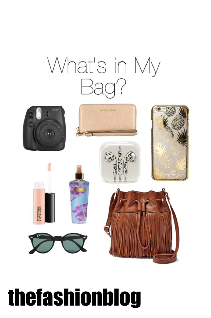 ~this is usually what I always have in my bag~