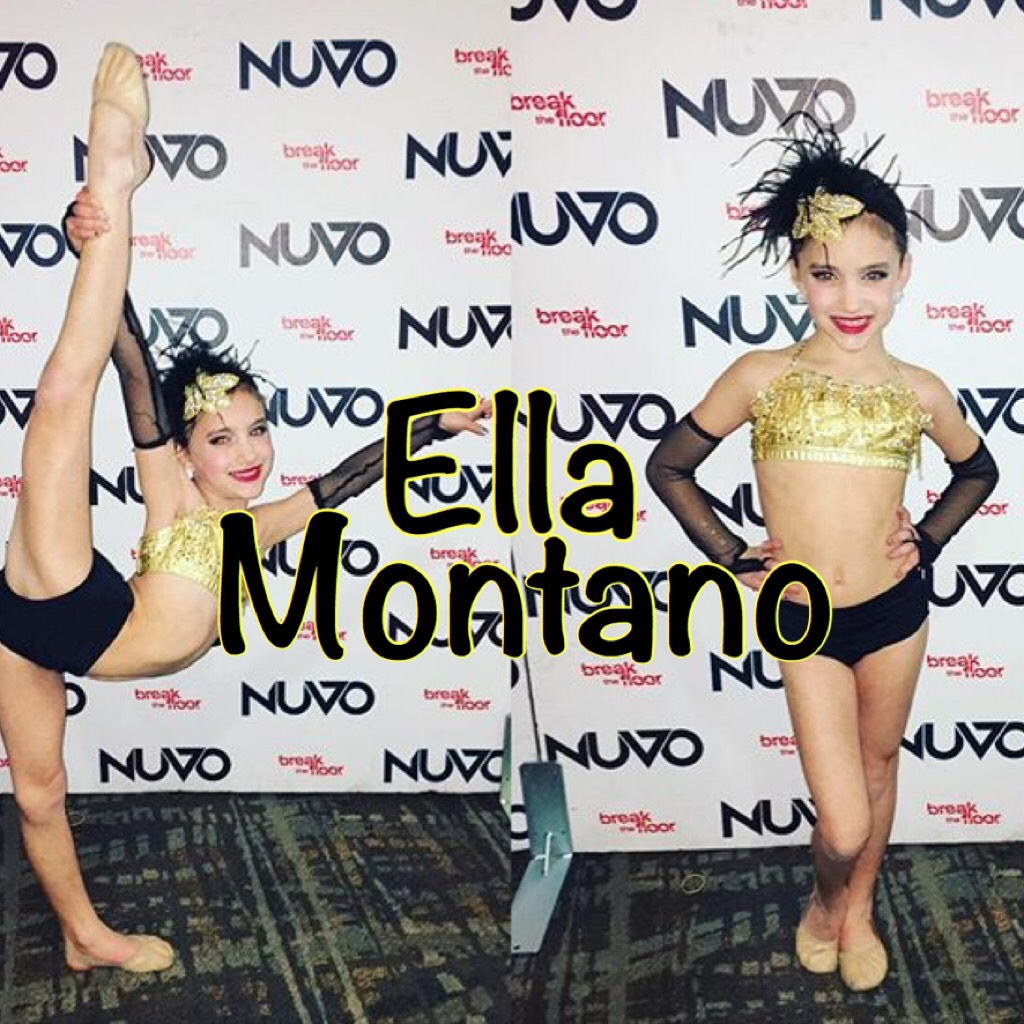 Click Ella is a junior at OCPAA  She is competing age nine Pics are from her solo Straight Up