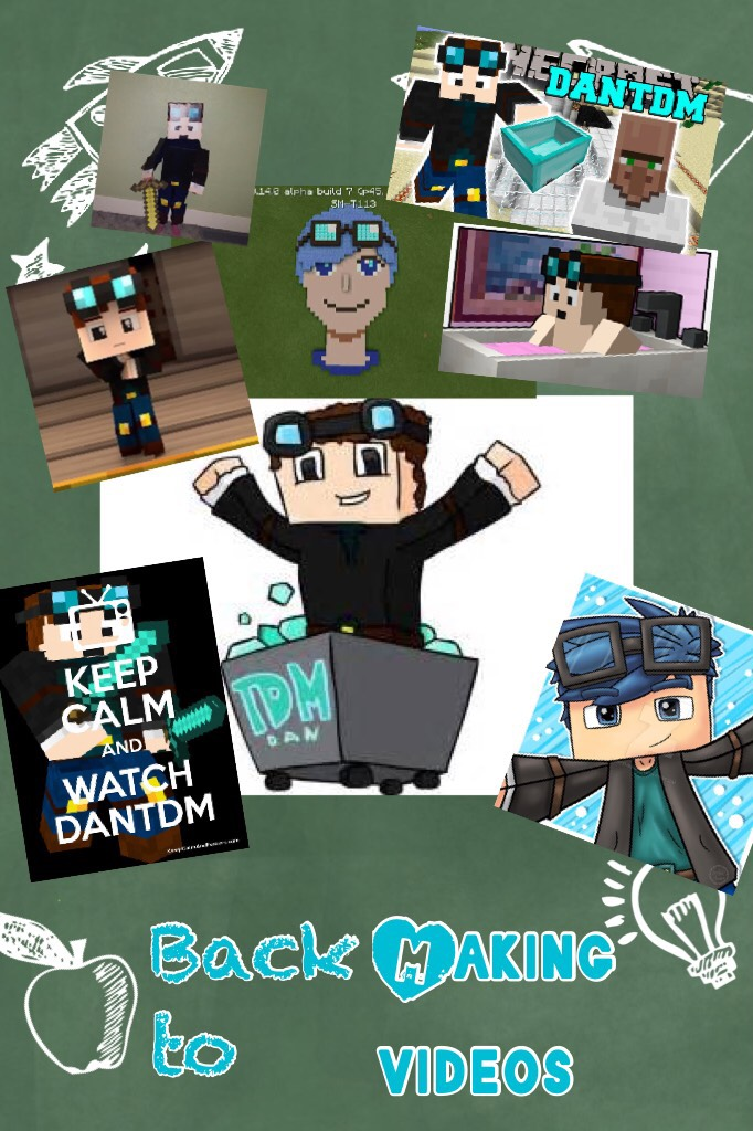 Don't forget to like and subscribe to DanTDM