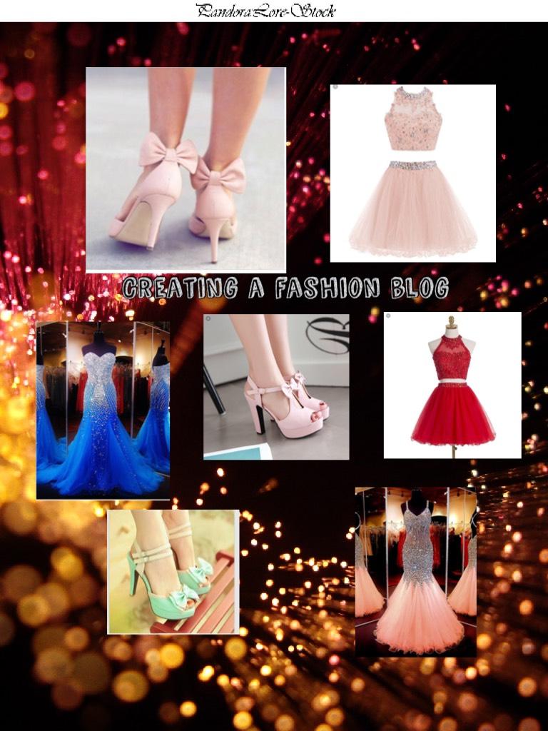 Creating a fashion blog