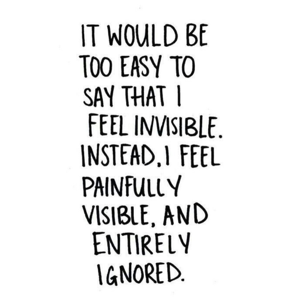 i want to be invisible quotes - 620×620