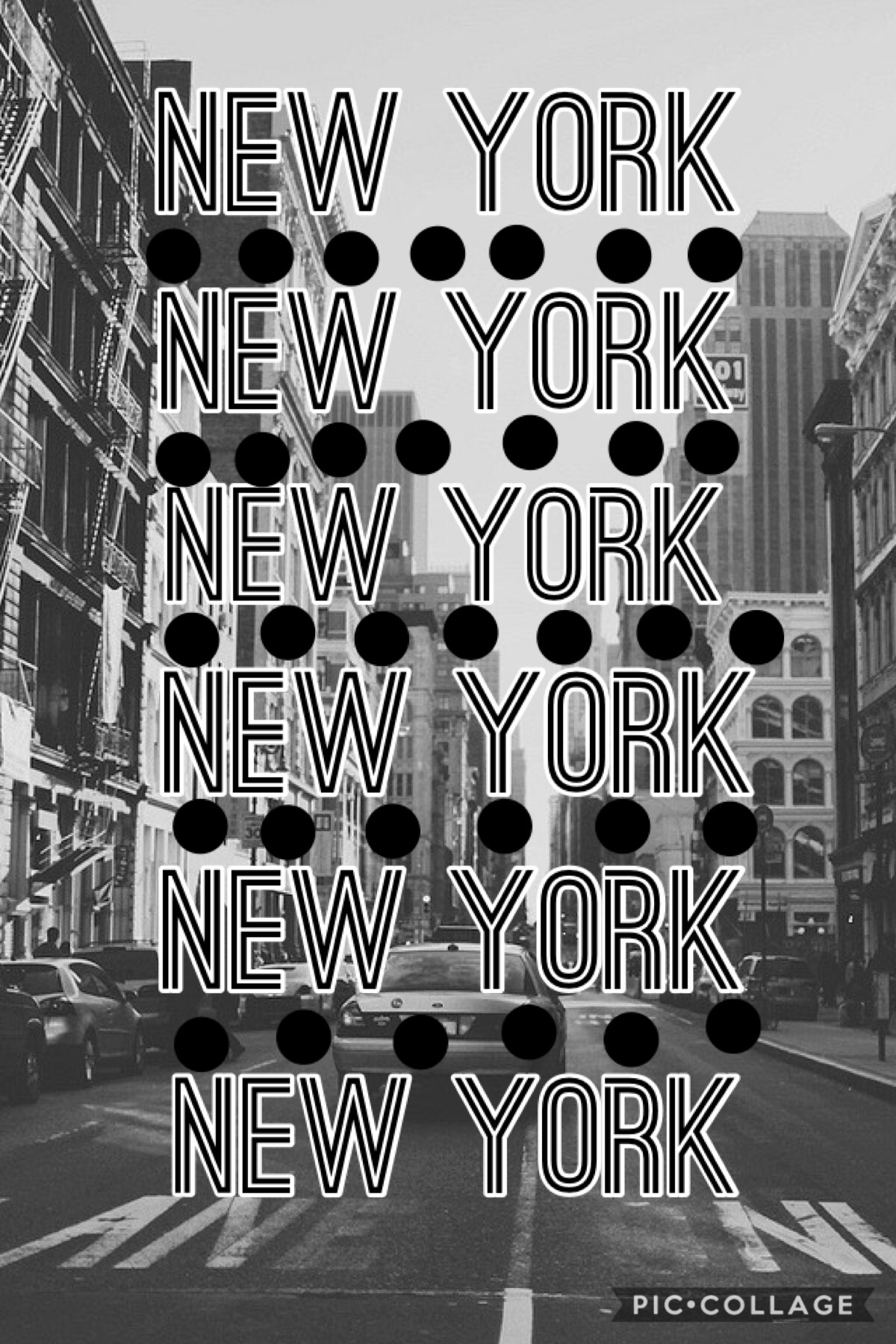Hey guys! Hope everyone is doing good! I am actually in New York right now and thought I should do a collage about New York! So here it is! Hope y'all like it!❤️