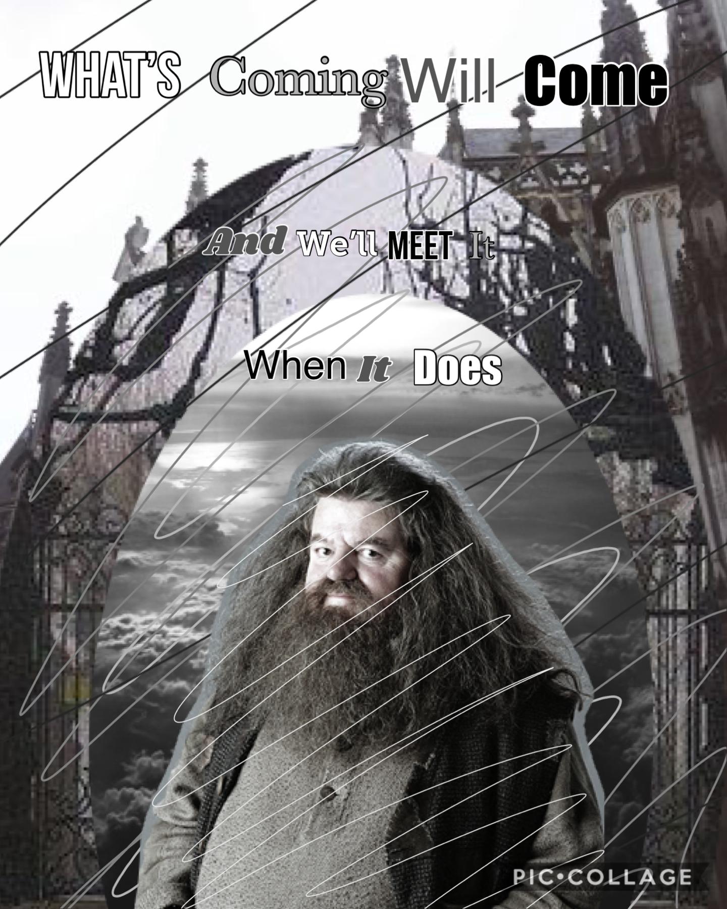 Day 29 Hagrid