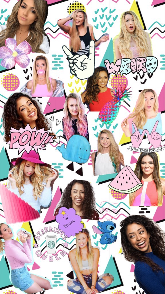 Tap🔥tap  Q: Comment you fav YouTuber in this collage A: Mines LaurDIY