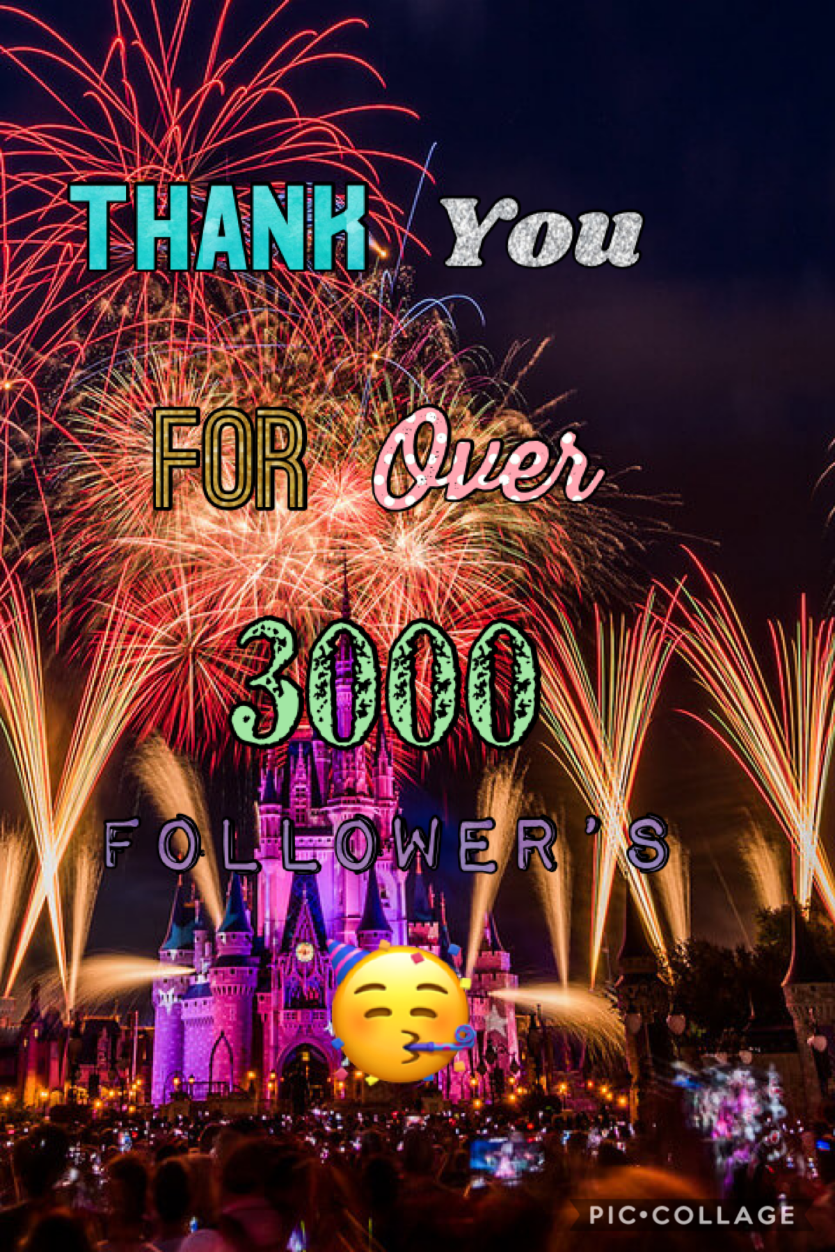Thank you for over 3000 followers