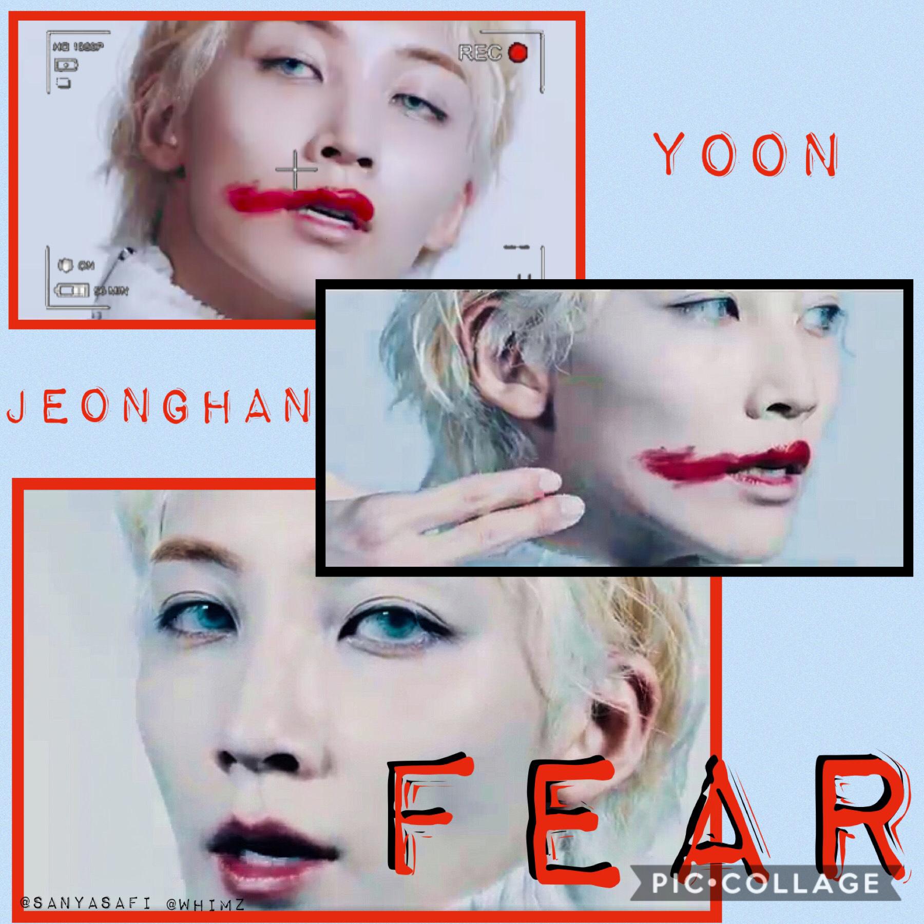 🌟  Jeonghan fear edit