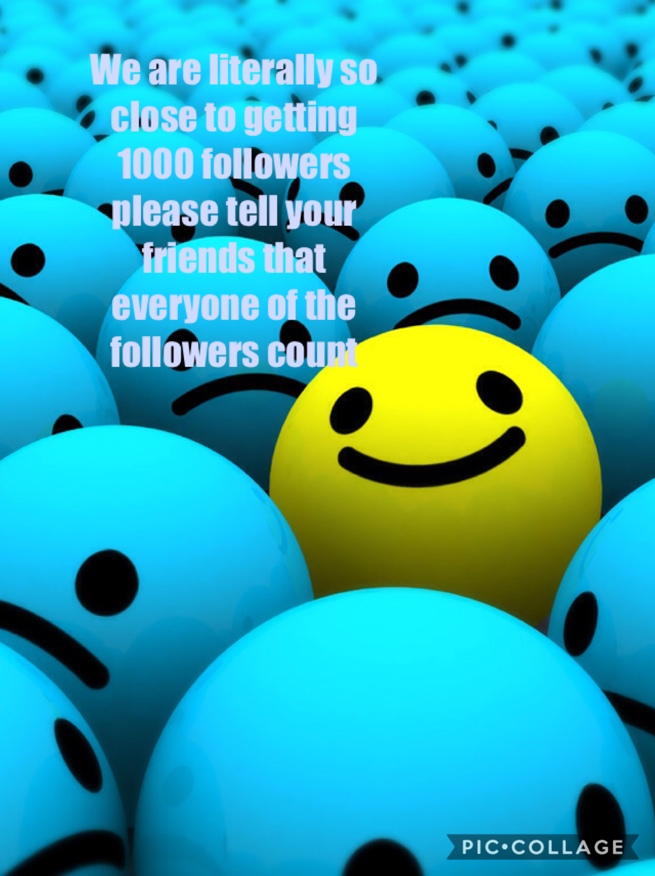 Please help on the road to 1000 followers they all count