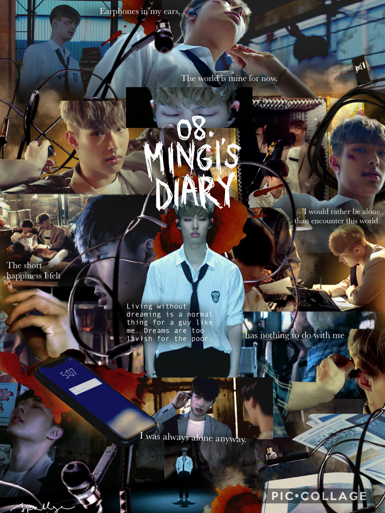 """[9/10] 08. """"Mingi's Diary"""" 