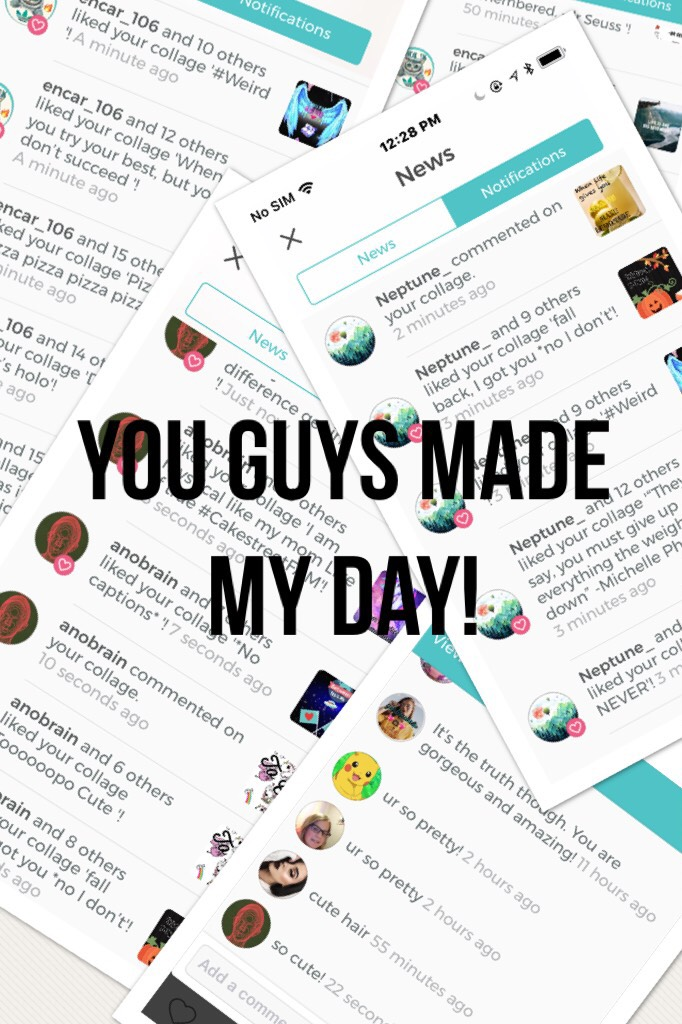 You guys made my day!