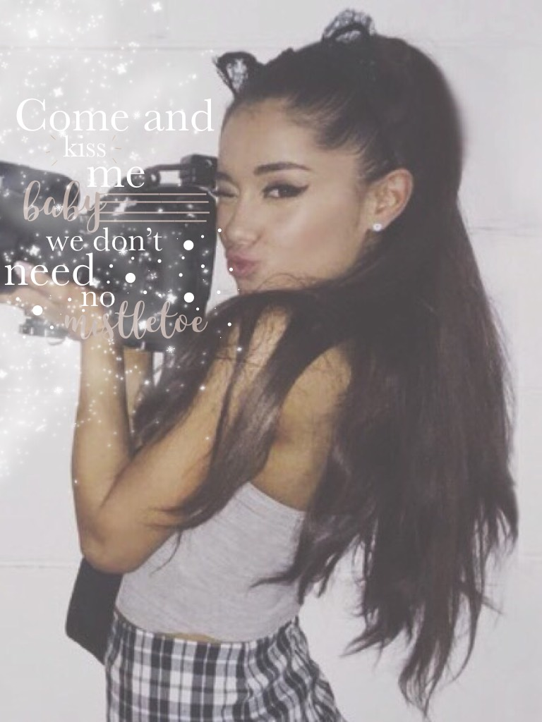 ❄️ tappy ❄️  Hello there lovelies 💓 Here's a bit of Ariana for you, since I love her just as much as Melanie. 💖 I just hope that this drama with Timothy and Mel is over soon. 💕  xox mel ✨☃️