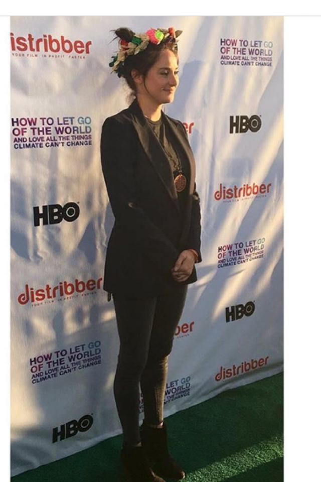 Shai at a show premiere in LA