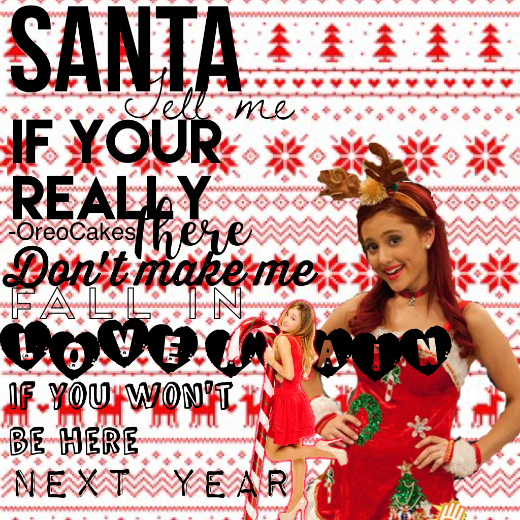 Tap here🎄💫  Omg!!! It's almost been a year of inactivity!! I'm so sorry but I'm back!💗 This is my fav song rn💫 Ari slaaaaays💘