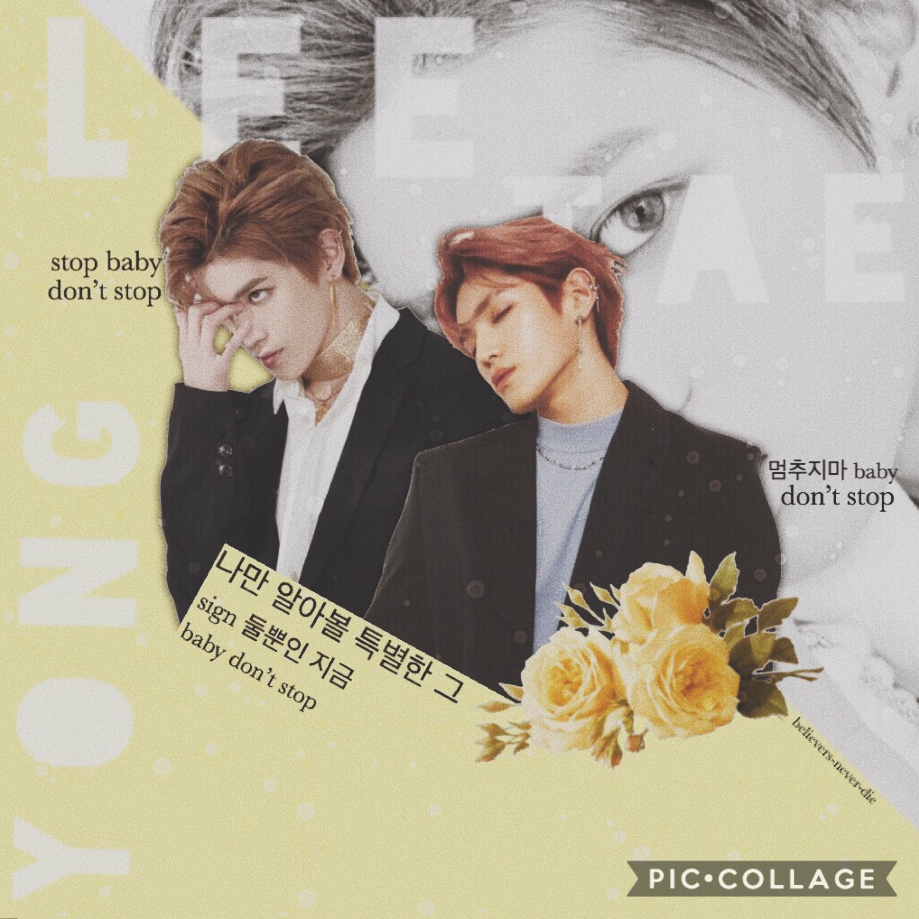 ☀️ tap ☀️  happy taeyong dayyy! happy birthday to this amazing handsome man. this is ugly but it doesn't matter! happy july~ ateez won their first two awards and i'm so proud i love them too much 💛