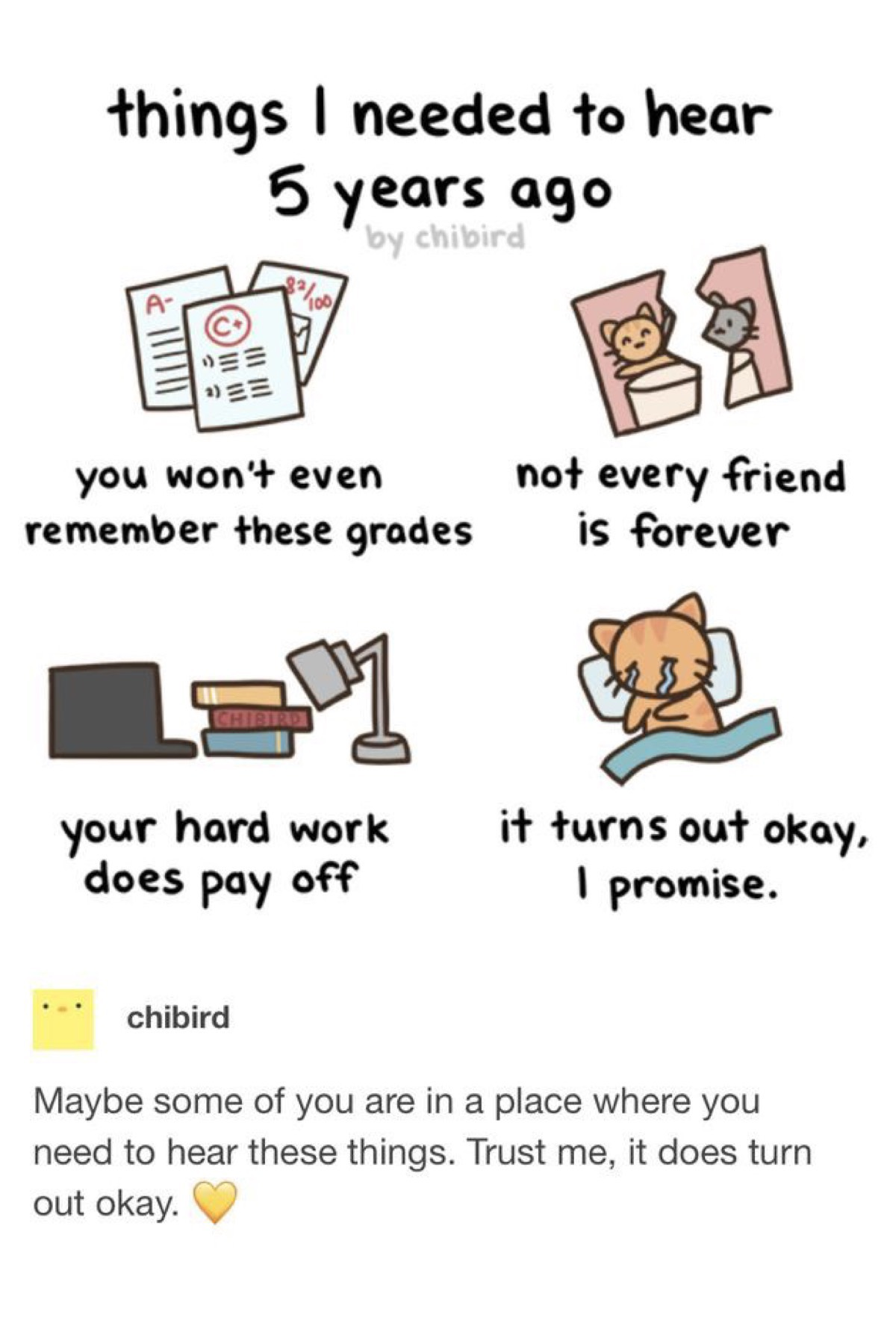 i needed to hear these desperately before school ended ;w;