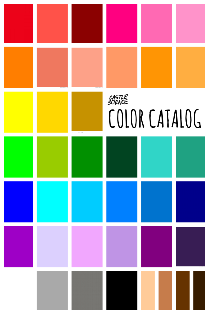 hi so i went through a bunch of trouble and got 41 different colors for y'all!! (please use the brightness setting for any tints and shades, i tried to get a variety of hues) hopefully you can collect these lol