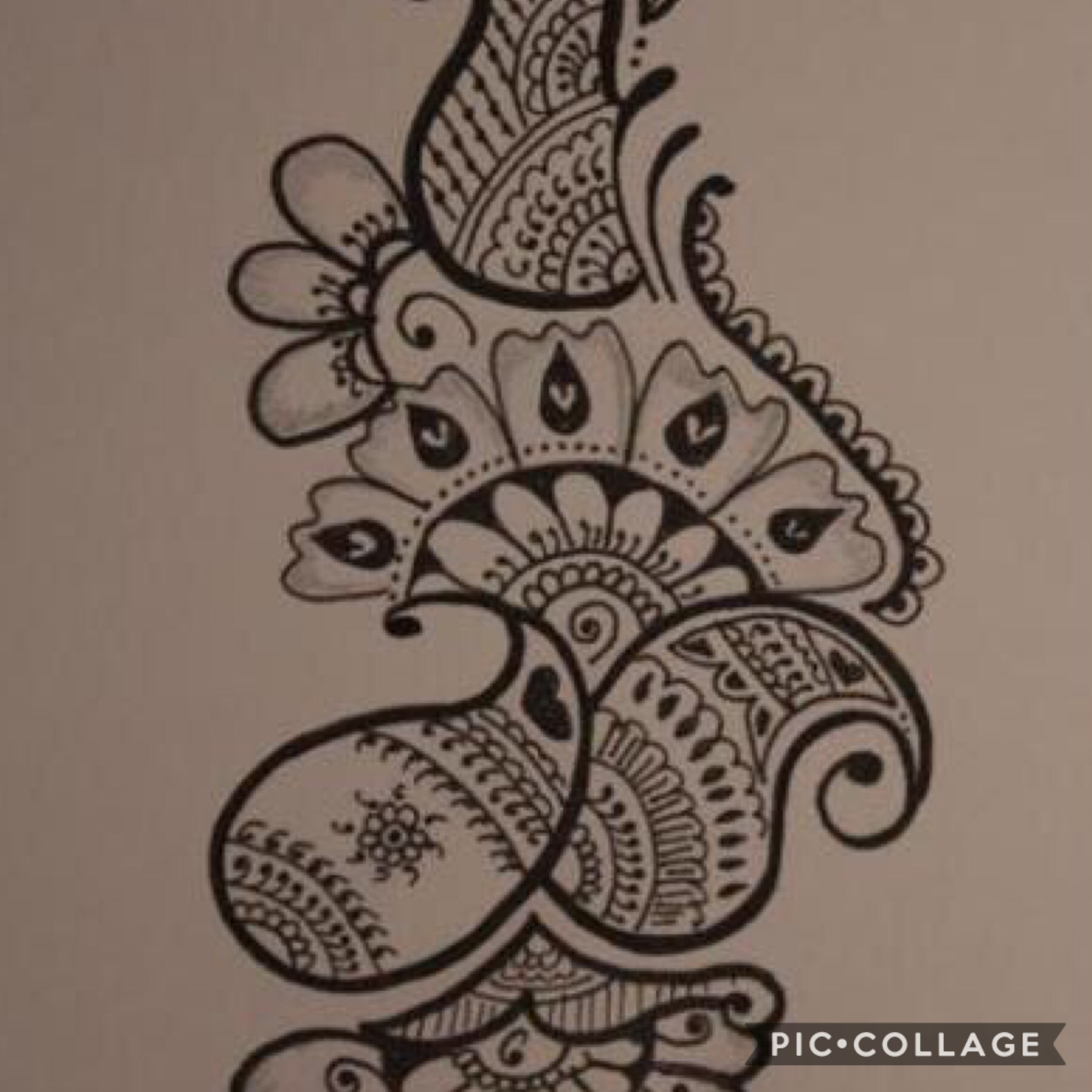 Tap I do henna designs I drew this please comment on this pic and like