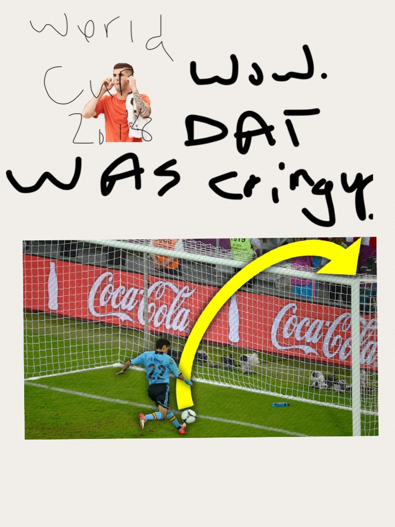 Ronaldo played so badly with his team in da world cup!!