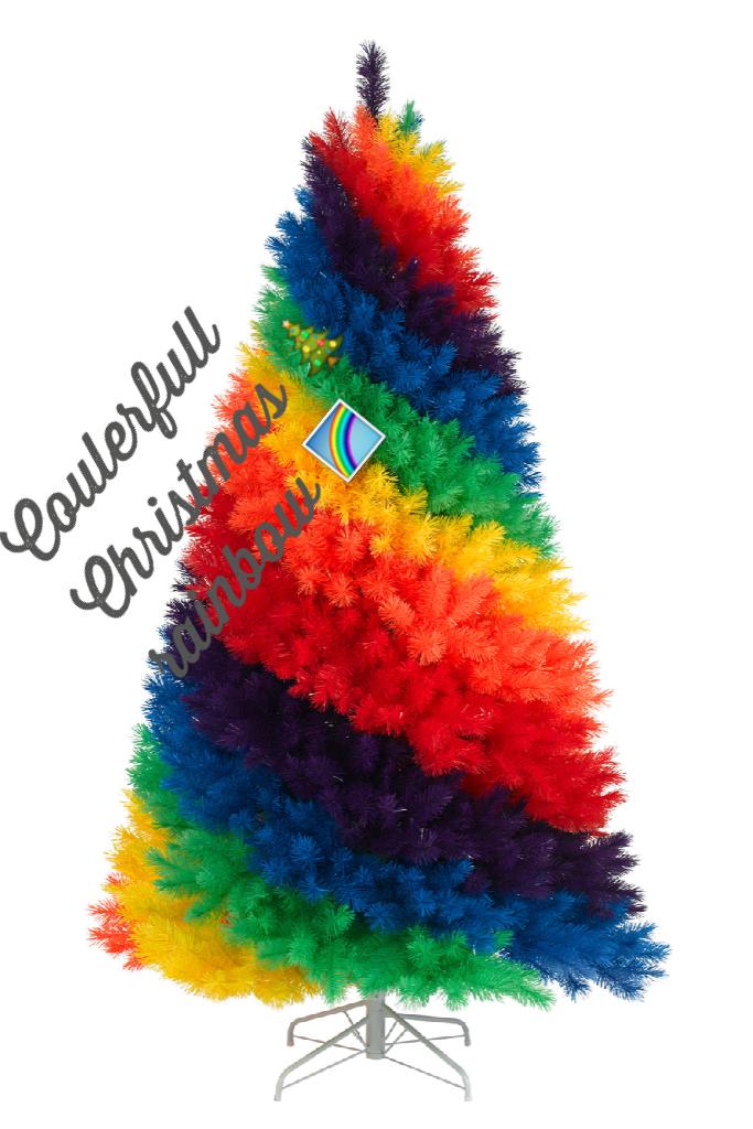 Coulerfull Christmas 🎄 rainbow 🌈