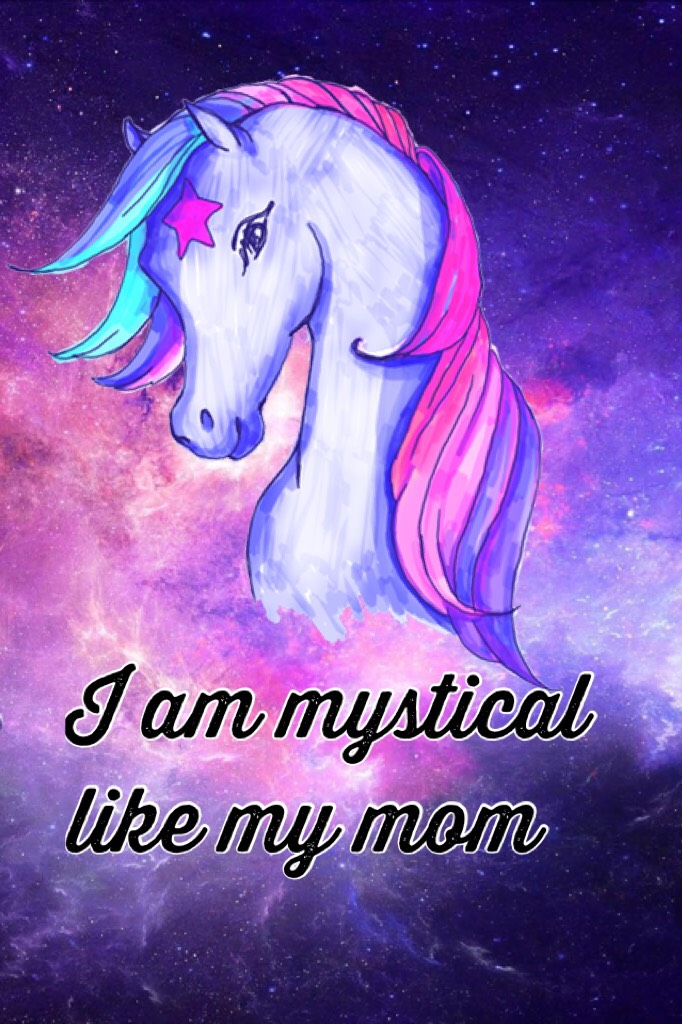 I am mystical like my mom   Like if true #CakestreetFAM