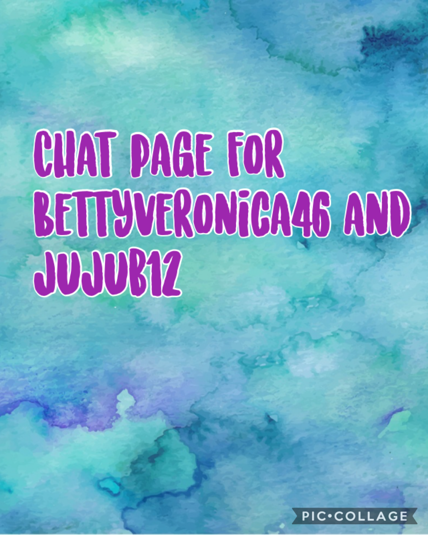 Chat page with Jujub12