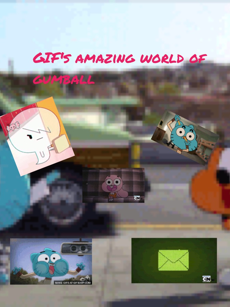 GIF's amazing world of gumball Id do not know why I did this