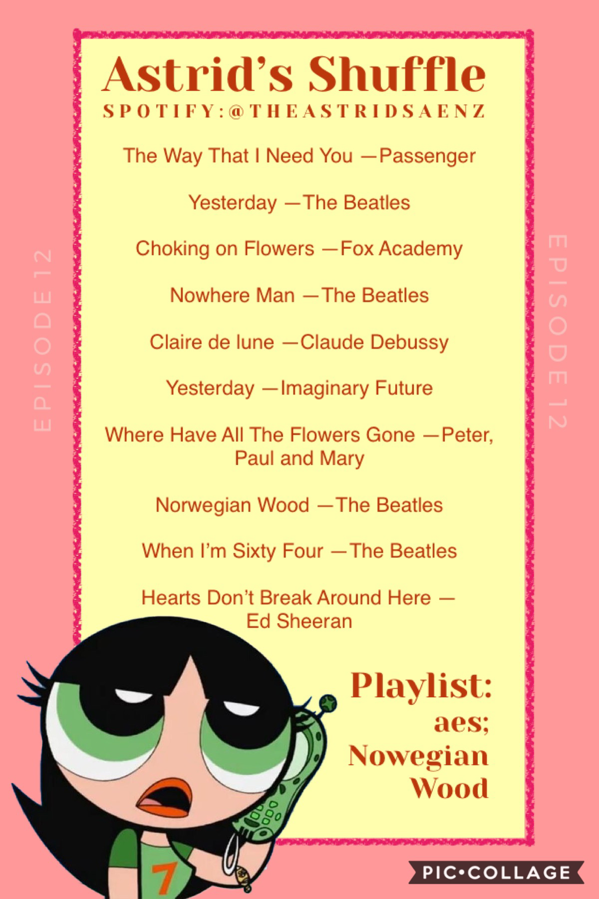 """can't believe it's been over a year since i made one of these! 🤯😂 how many of these songs do you know? alsoo, watched """"the conjuring"""" with gabriel last night and while annabelle wasn't scary, that one... 😳"""