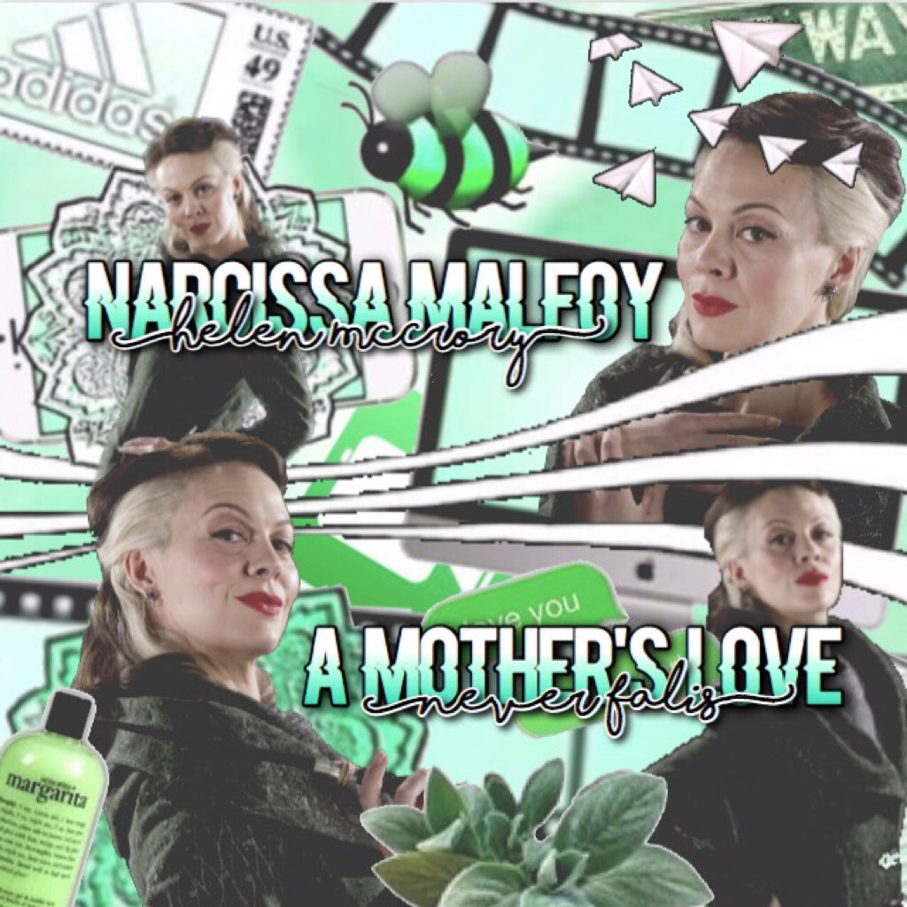 >>>Tap Here<<< Rare Narcissa Malfoy ~COMPLEX EDIT~ This is to all the people who have guided me along my piccollage journey! Ily all!💚💚💚