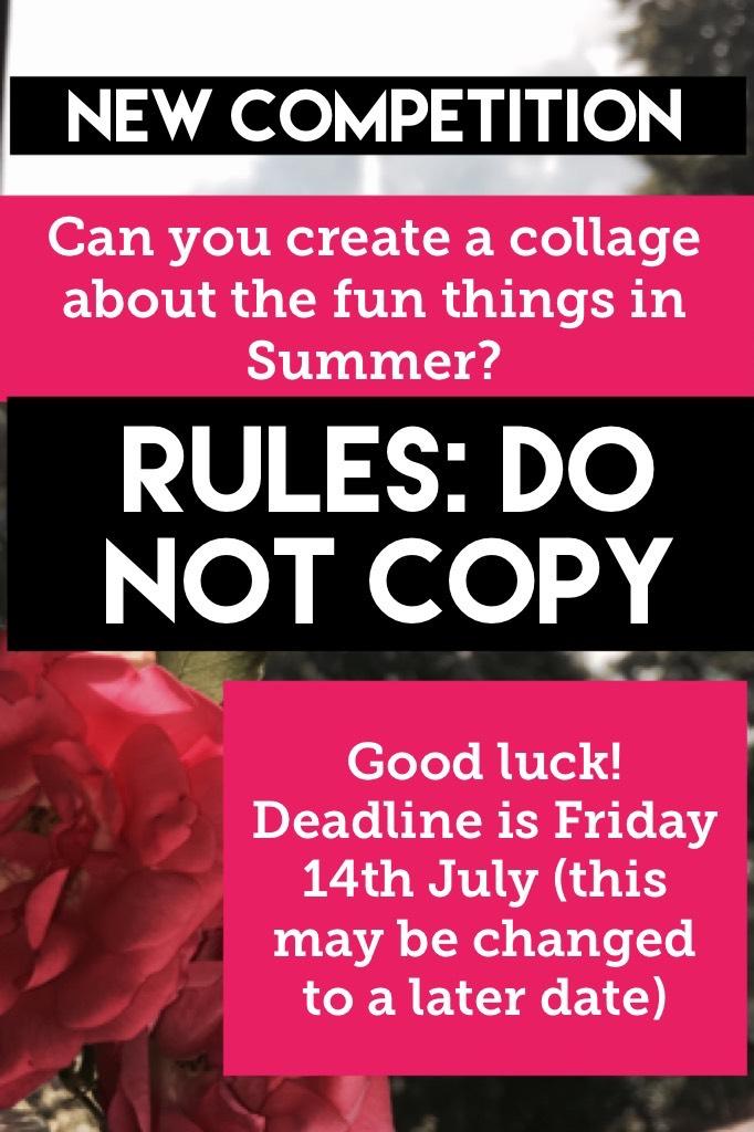Shoutout to anyone who participates!