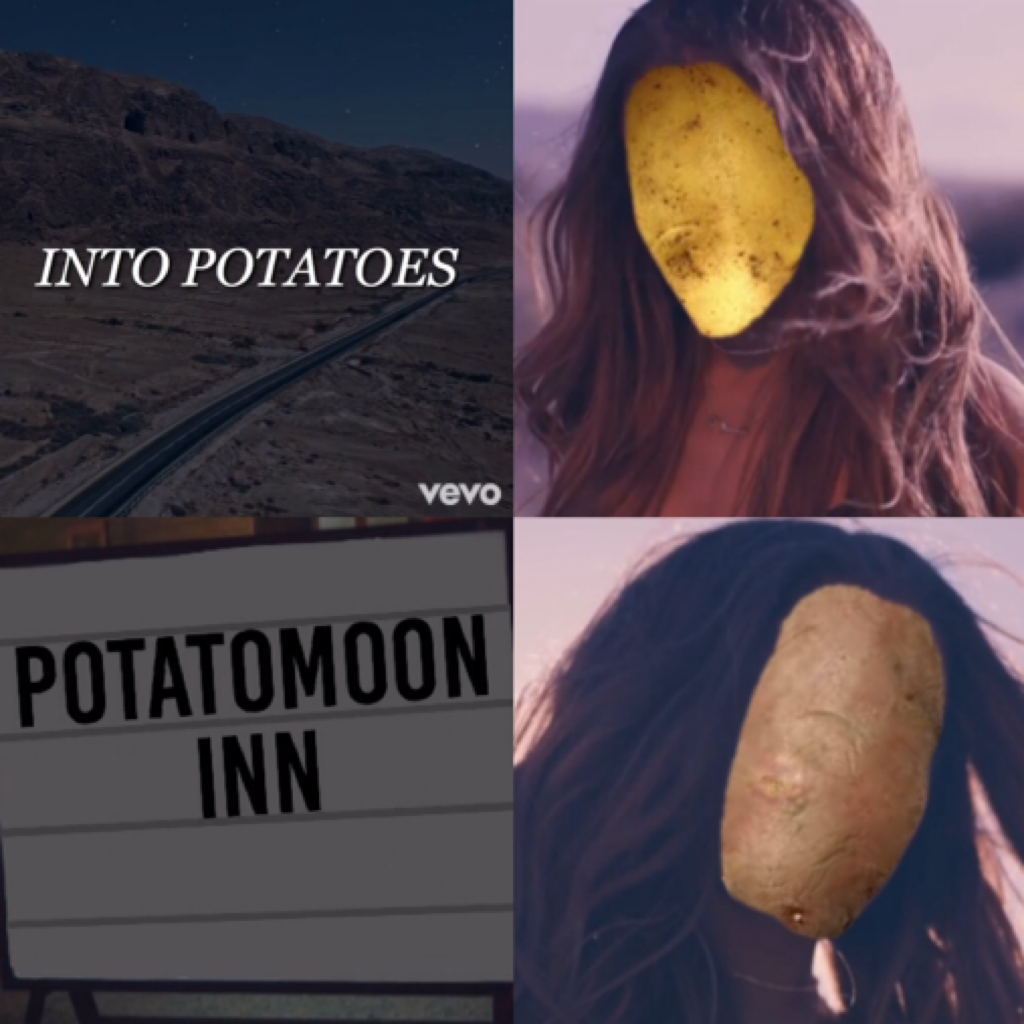 music video for 'Into Potatoes' is officially out now. hope you enjoy it!💓(top right corner is: @foreverbcy. bottom right corner is:@knewbctter) -the dangerous potatoes 👯