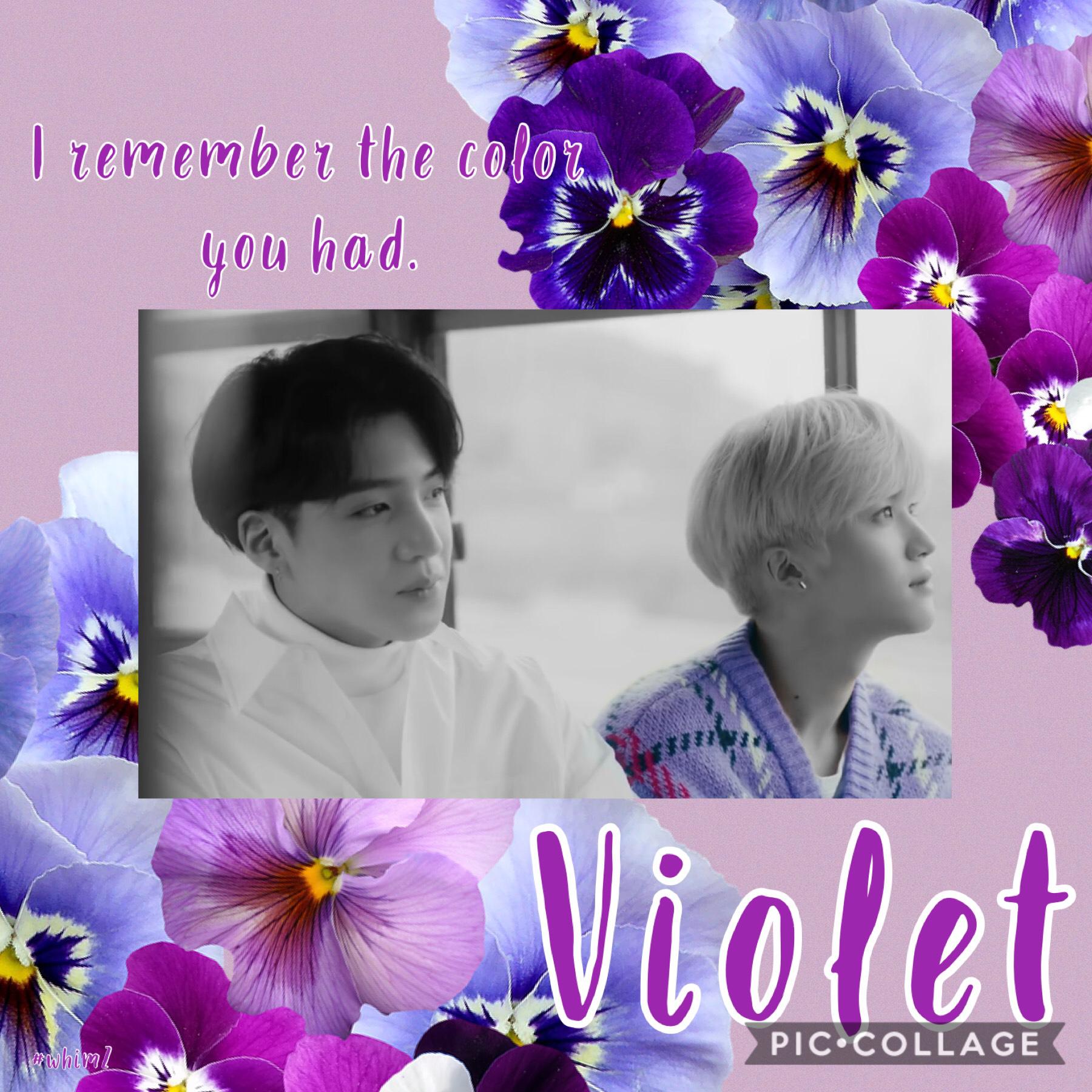 Violet edit part 2