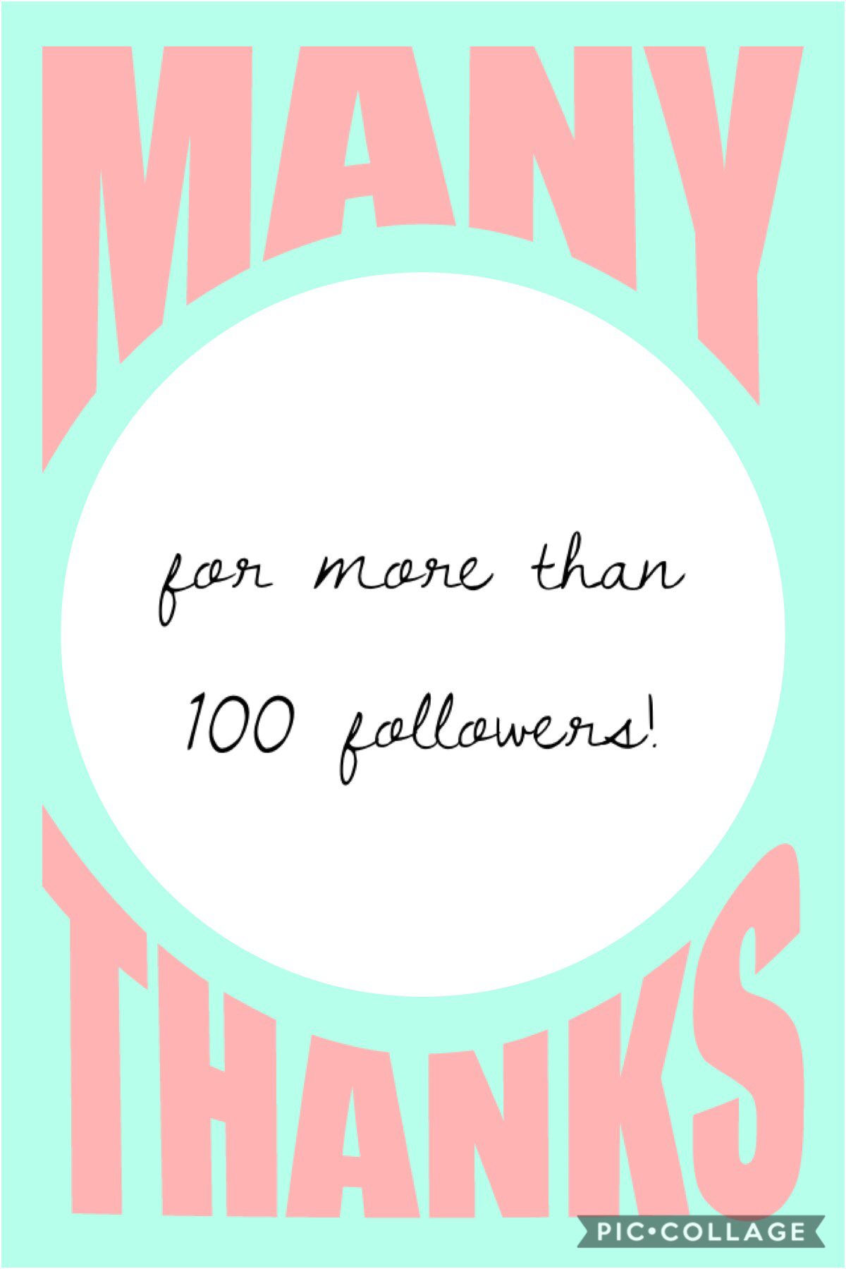 Thanks for more than 100 followers!