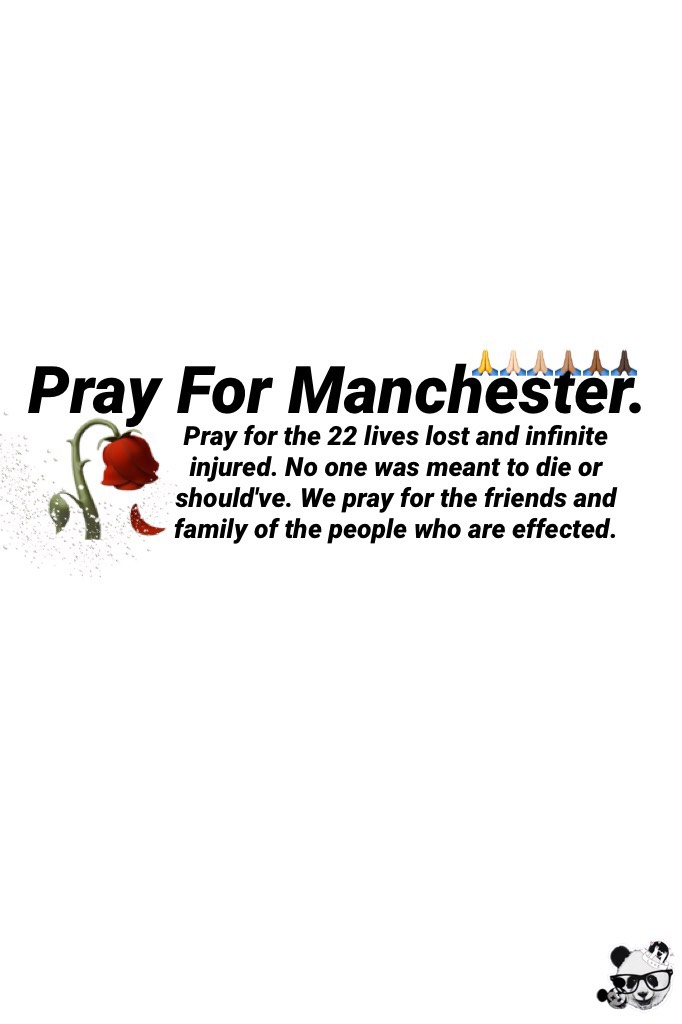 22 too many lives were lost today. Too many were injured, it's awful for someone to go to a music concert and never come back. Pray for Manchester🙏🏻🙏🏼🙏🏽🙏🏾🙏🏿