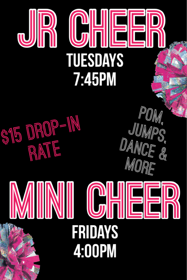 New #cheer classes!!  Team auditions in May. #lakelandfl #tampafl