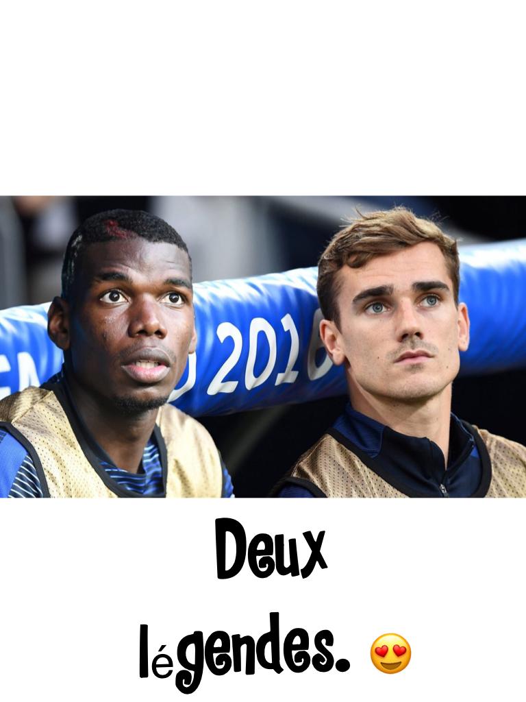 Deux légendes. 😍