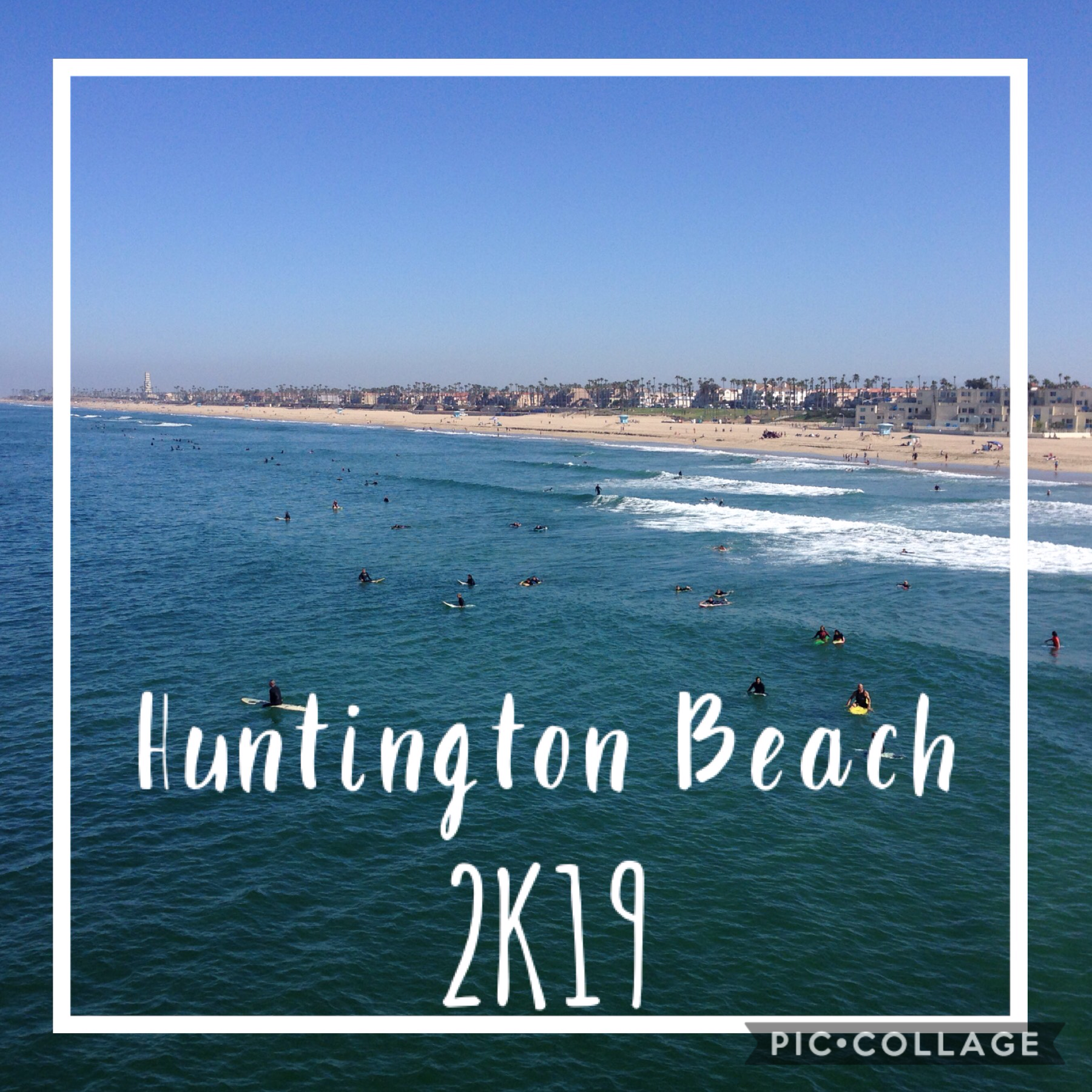 🌊tap🌊 A day at Huntington Beach in California! What a fun day in the sun
