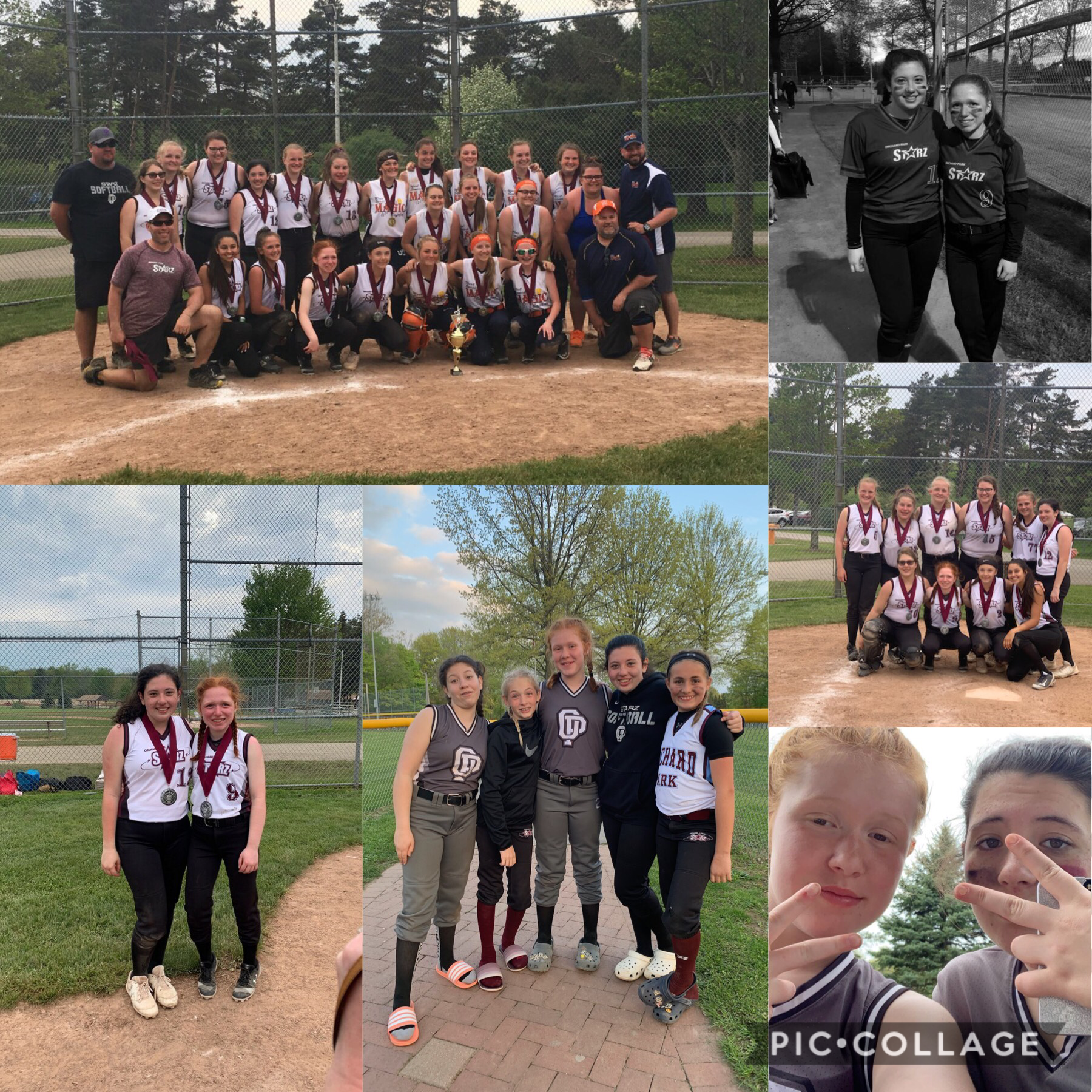 2nd place 14u silver division🔥 1st tournament of the season🥎great way to start off the year❤️ never thought we would get this far together🥰