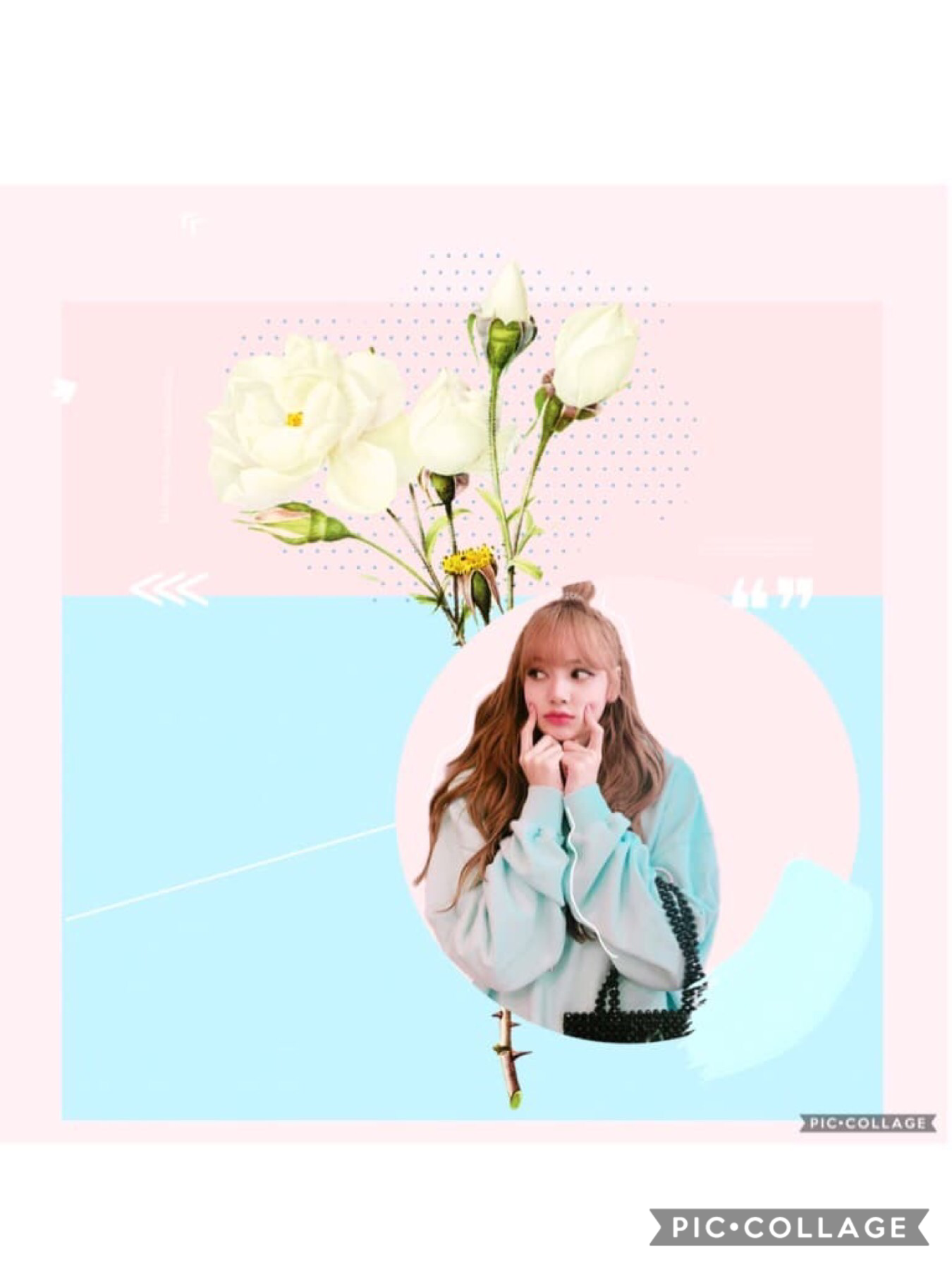 Ahhhh Lisa is so adorable!!! But I need to stay loyal to Jennie!! Ahh!! Hope you enjoy this edit!! Oh my daisies this caption is getting to long now hehe bye!!