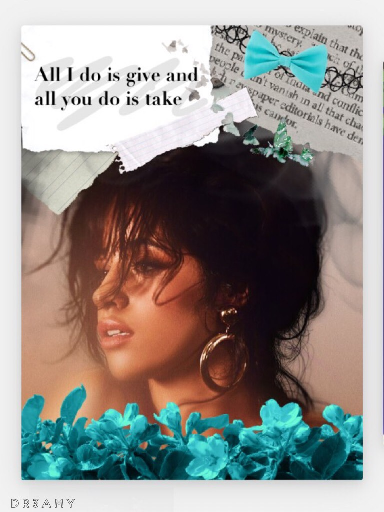 📎Tap📎 Hiiiiii I'm back I'm sorry for my inactivity, but I had do study. Camila's album came out, sooooo I'm very happy😍have you listened to it? Bye, Lu♥️