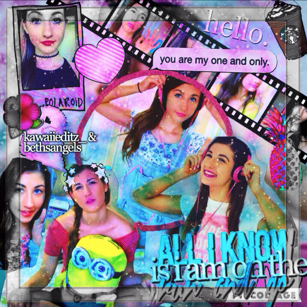 2 posts in one day !🙈💜 collab with the awesome kawaiieditz_ 😘💕 goal: 50 likes? \\ tysm for 180💗 xo becca