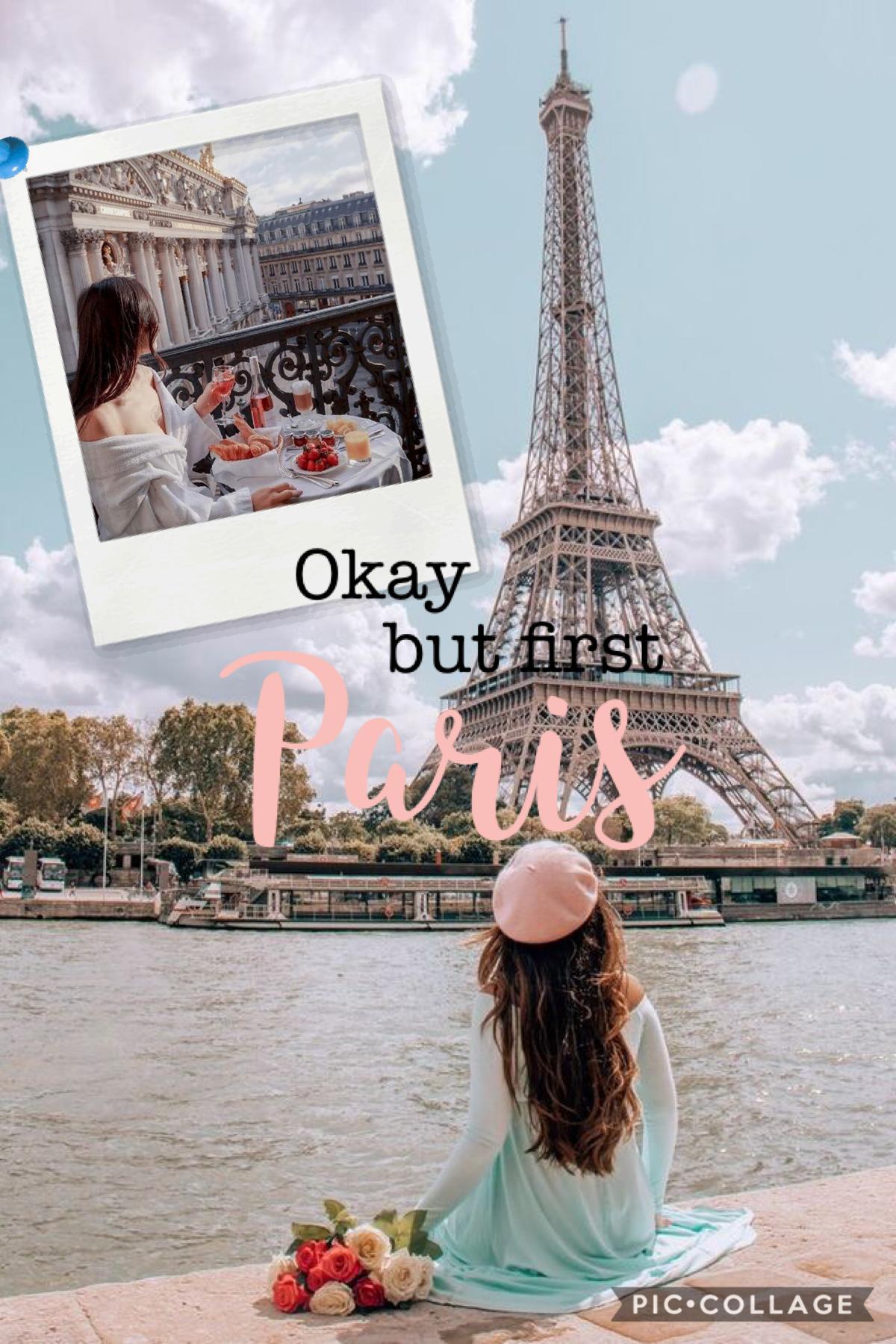 💗🛍🌸 Okay but first Paris xx