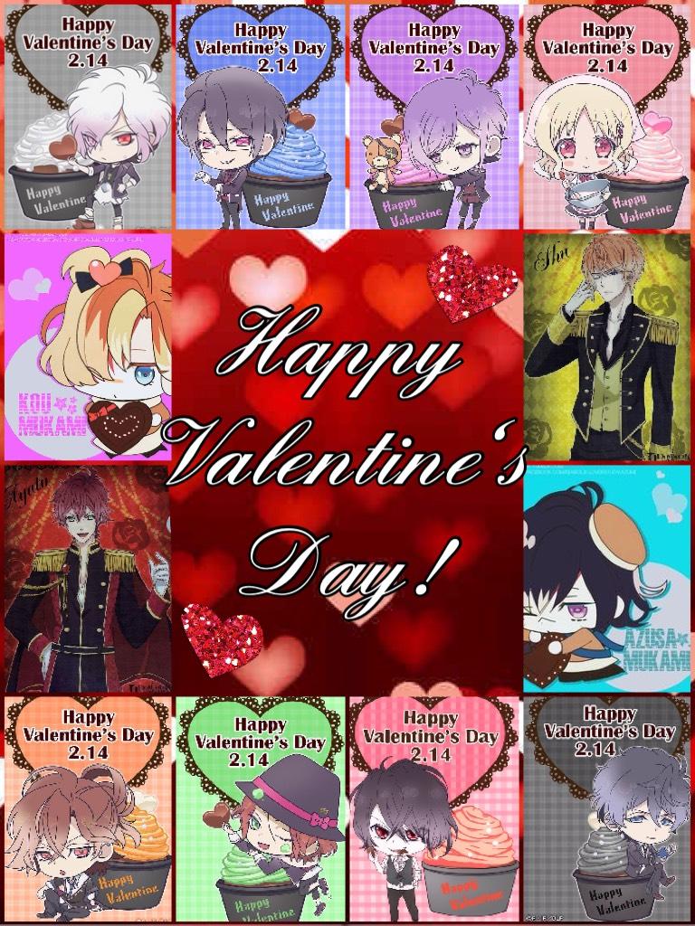 Happy Valentine's Day! From: Diabolik Lovers