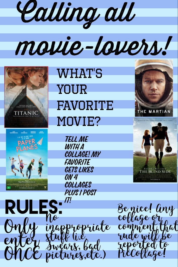Calling all movie-lovers! CONTEST ALERT