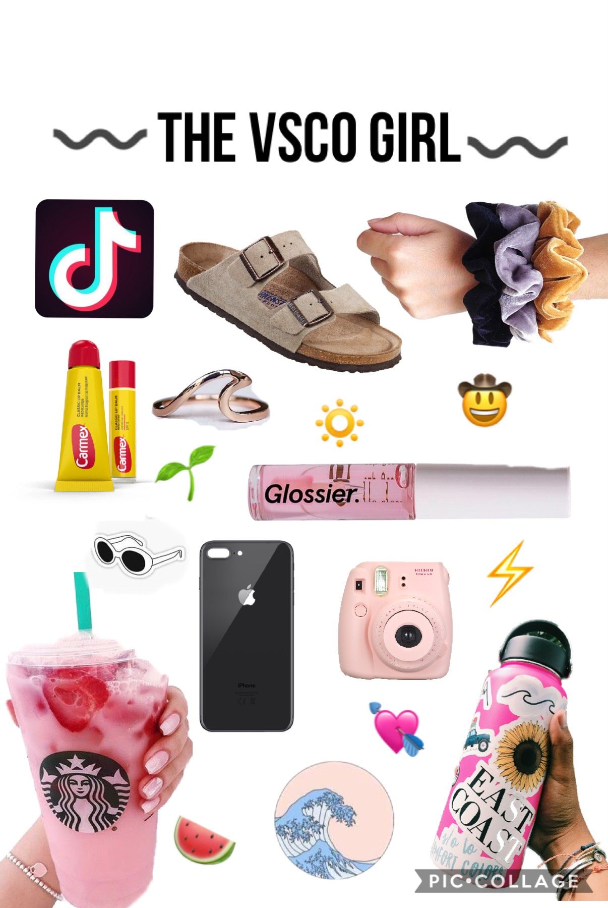 the ultimate vsco girl 😌