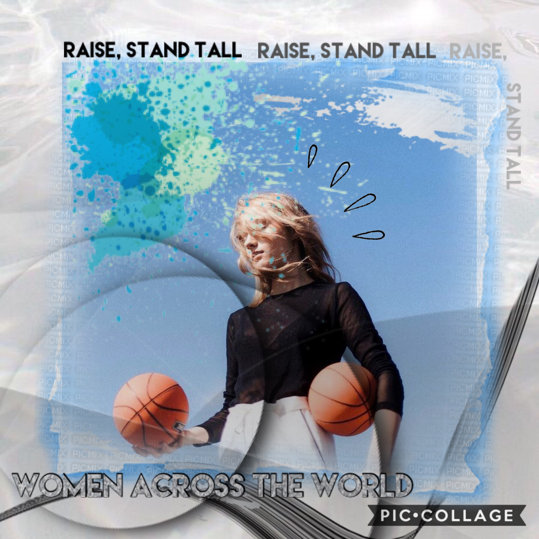 Tap  Women across the world raise and stand tall!  Happy international women's day