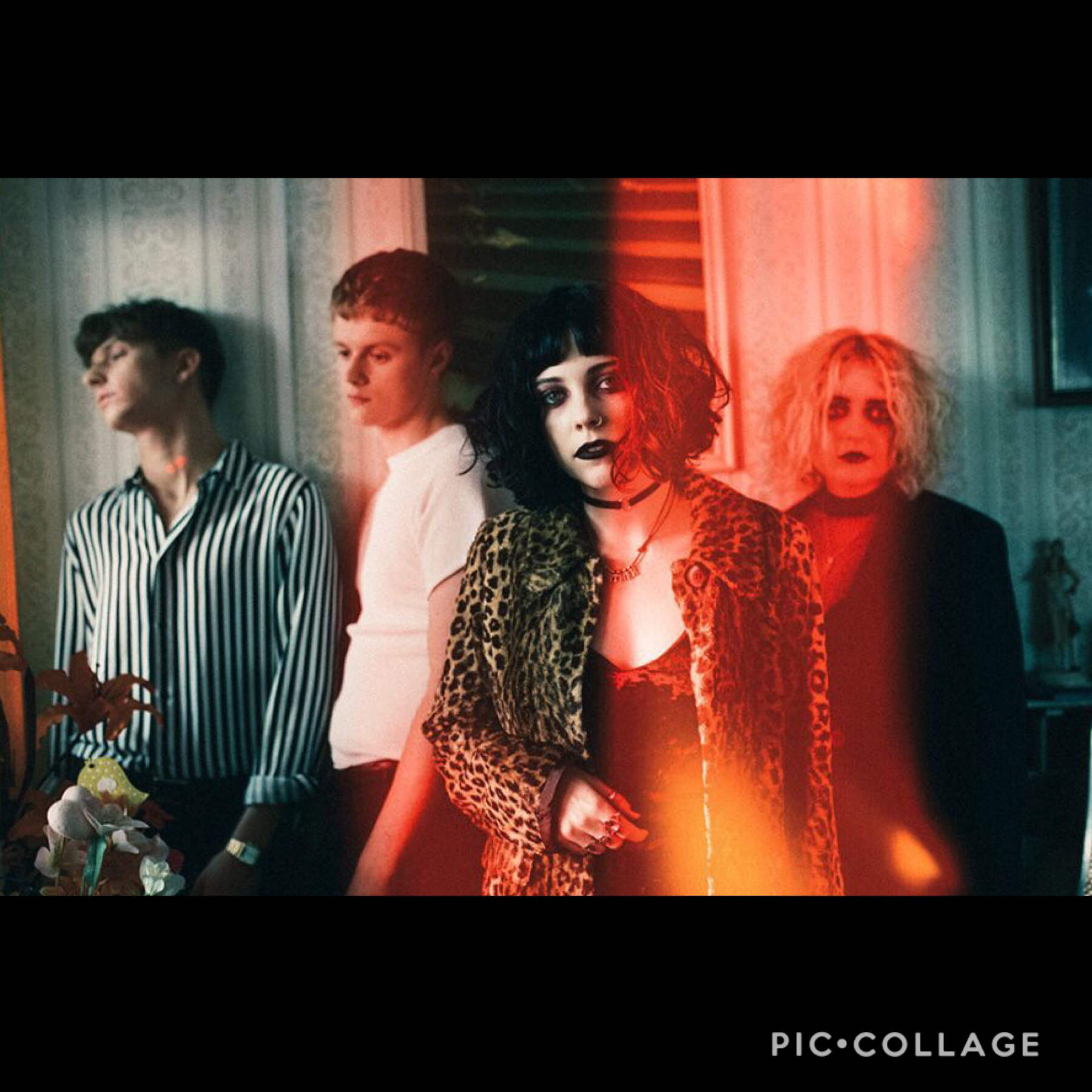 🌊 Ta p p y t a p 🌊   Issa Pale Waves their music is amazing go check em out. Also I'm bored so if you wanna Rp then hmu. Also I make icons so if ya want one just comment details on what you want