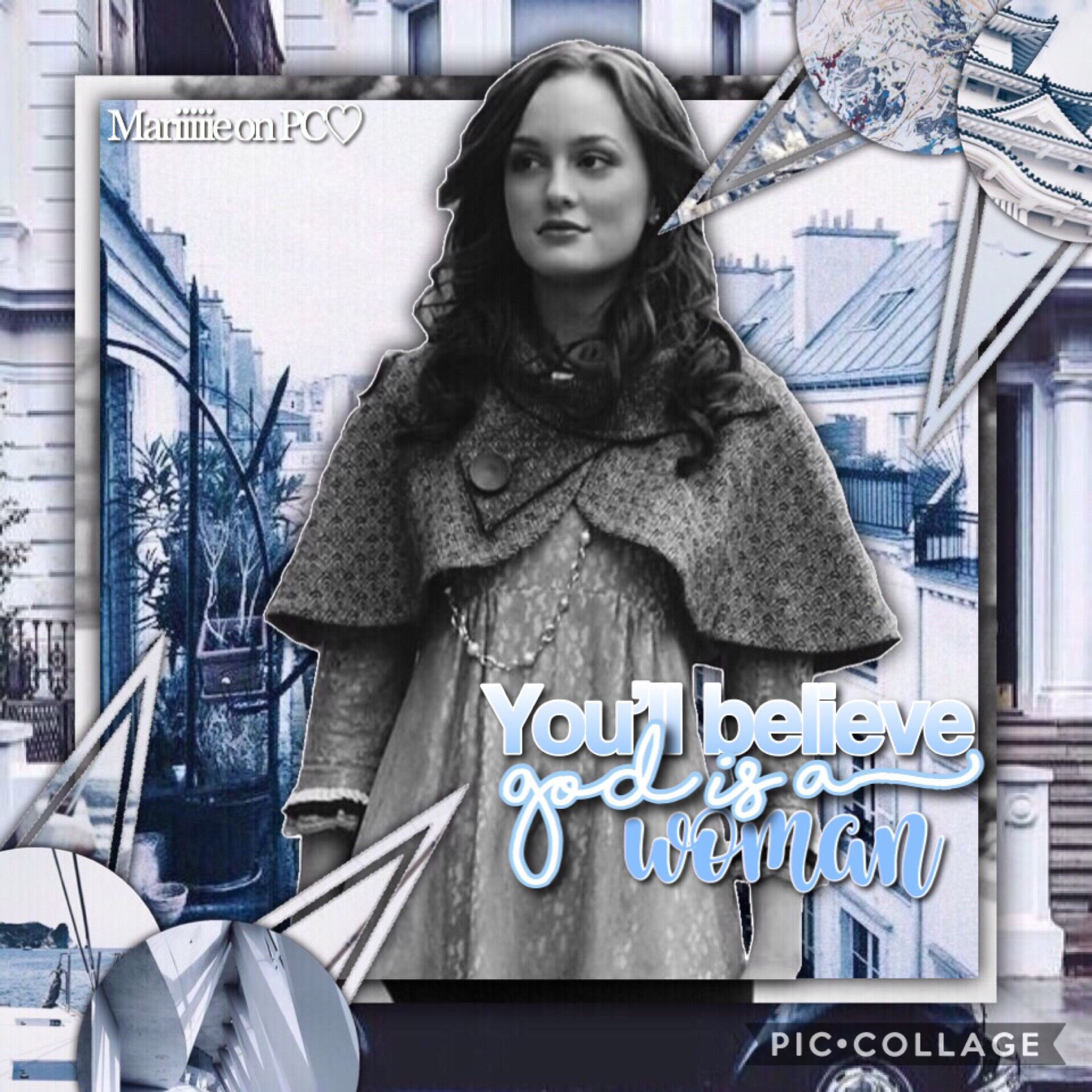 ✨- T A P -✨  Blair Waldorf edit!💙 Home you will like it!😊  This is an entry to youblitheringidiot's games! Go follow her!🙃  I know i haven't post for a while... sorry😕😶  QOTD and AOTD on comments👇🏻