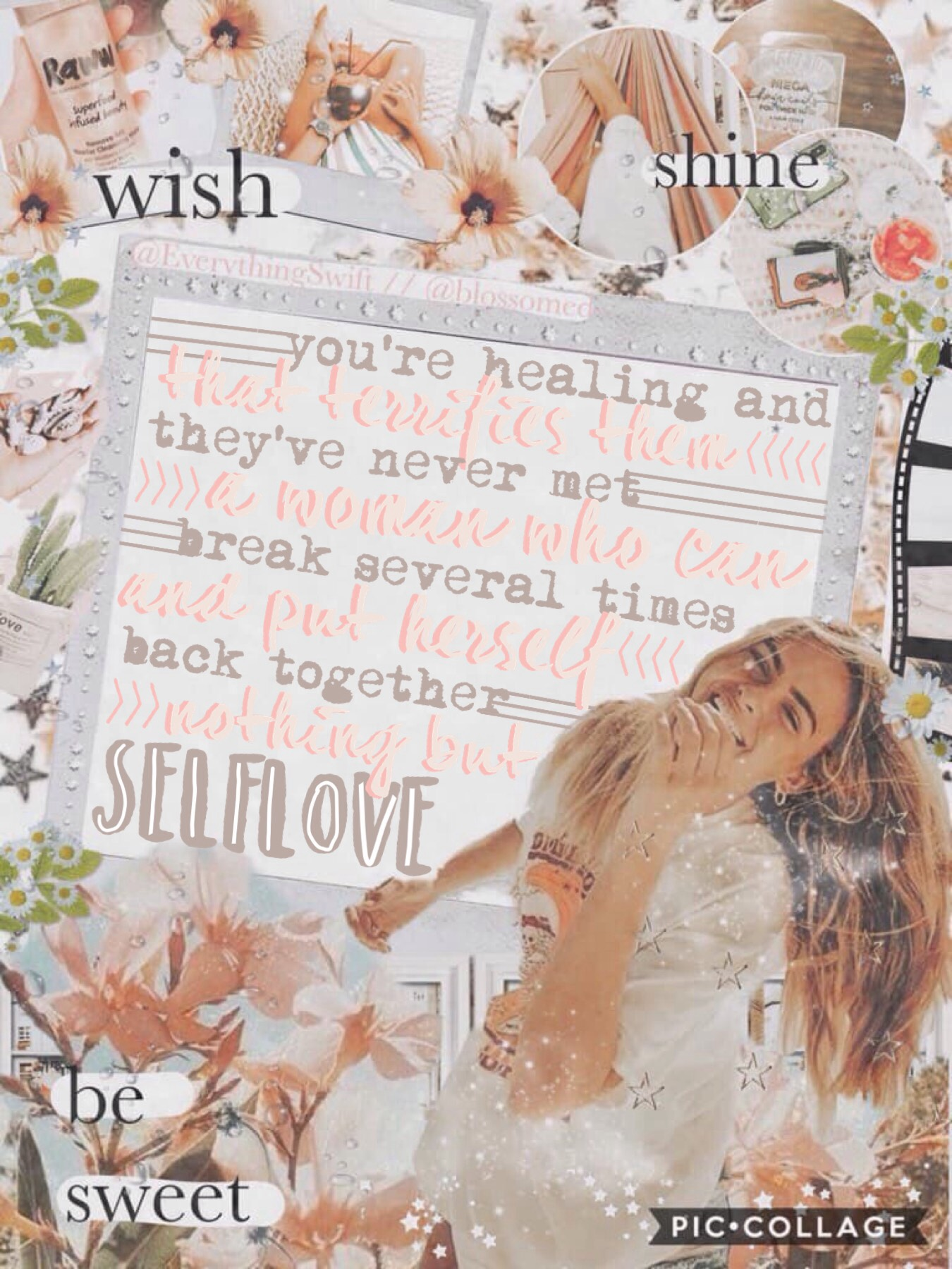 ✰ t a p  f o r  c o l l a b ✰ collab with my incredible bestie blossomed- Liss made this absolutely stunning bg! btw contest winners I will get the prizes asap qotd: what are you wearing rn? aotd: pj shorts and an oversized t-shirt